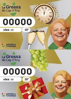 El número 31.528 de la Grossa de Cap d'Any de la Festa Major, premiat amb 1€ per euro jugat