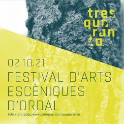 Neix a Ordal el festival d'arts escèniques Tresquaranta