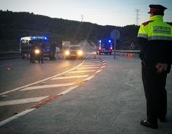 Una patrulla dels Mossos de Vilafranca va escortar una família fins a l'hospital Sant Joan de Déu