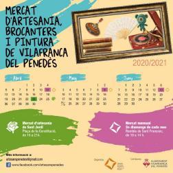 Es reprenen els mercats d'artesania, brocanters i pintura del segon diumenge de mes