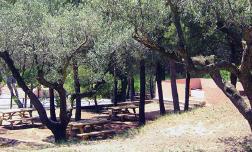 Tanca la zona de picnic de l'Espai Muntanya de Sant Jaume